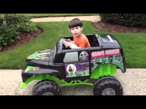 grave digger monster truck power wheels custom ride ons 12v power wheels grave digger monster