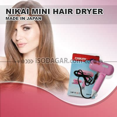 Hair Dryer Kecil hair dryer mini merk nikai made in japan isodagar
