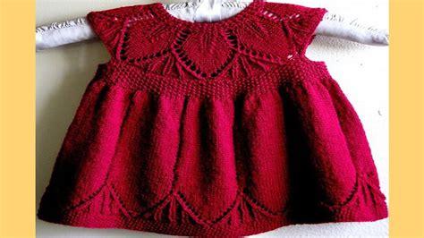 imagenes y patrones de vestidos tejidos para nias vestido para ni 241 a tejidos a crochet youtube