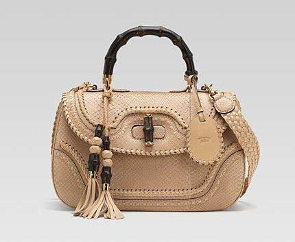 10 Gucci Handbags by New Bamboo Large Top Handle Bag 10 Gucci