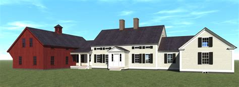 historic new england farmhouse plans badger and associates inc house plans for sale
