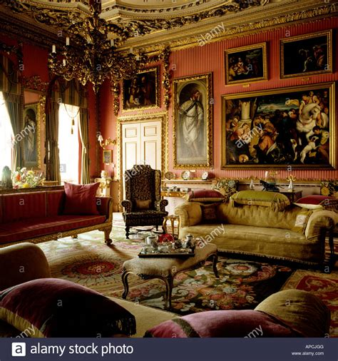 Floor Plan For My House drawing room at burghley house stock photo royalty free