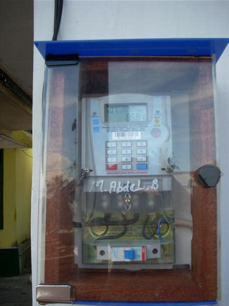rtnet meteran listrik pra bayar