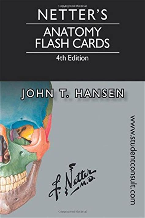 pharmacology flash cards 4e books netter s anatomy flash cards 4th edition netter basic
