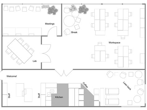 office space floor plan office floor plans roomsketcher
