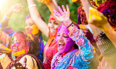 holi experience india s festival of colour get lost