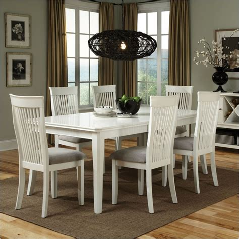 White Wooden Dining Table And Chairs White Wood Dining Table And Chairs Sl Interior Design