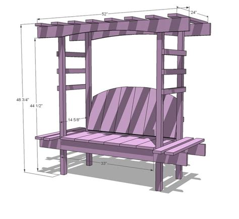 child bench plans ana white build a child s bench with arbor free and