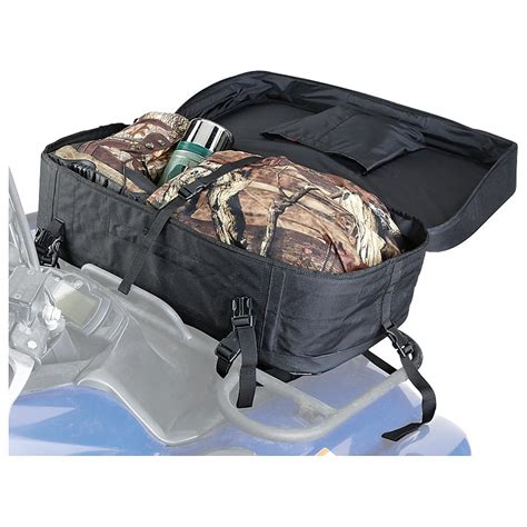 atv front rack bag american trails 174 atv front rack bag 613333 racks bags
