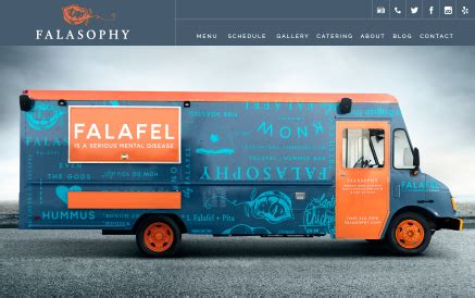 food truck website design food truck website templates choose yours made for