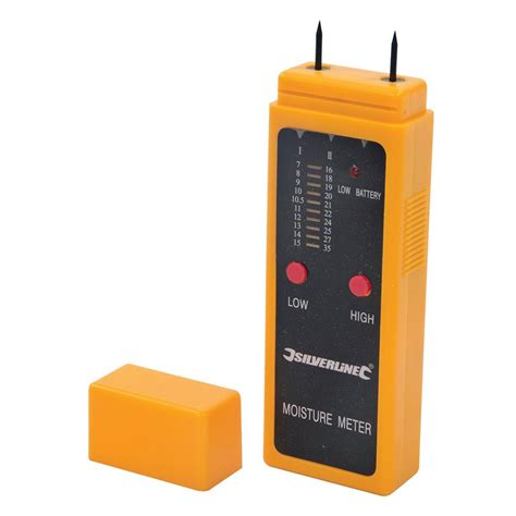 woodworking moisture meter too675304 silverline wood moisture meter