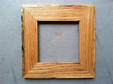 Handmade Wood Picture Frames - 6x6 wooden picture frame handmade