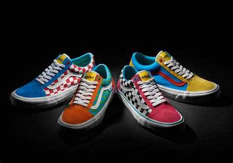 Sepatu Vans Nitro golf wang connects with vans for another collection of
