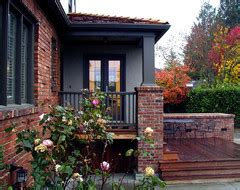 exterior color to complement orange brick