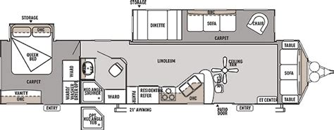 wildwood trailers floor plans wildwood lodge destination trailer by forest river