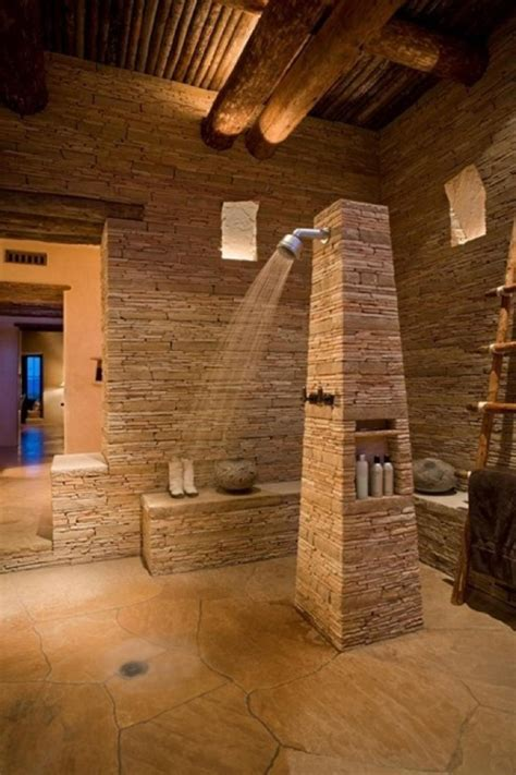 stone bathroom ideas 25 awesome natural stone bathrooms home design and interior