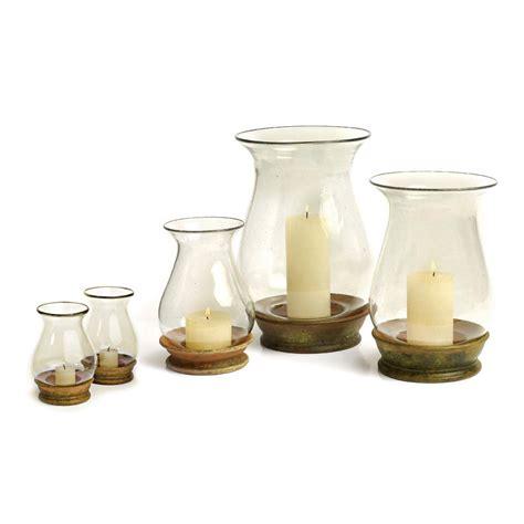 Hurricane Lantern Candle Hurricane Lantern Co De Fiori Naturally Mossed