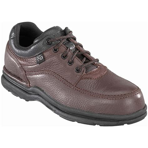 steel toe shoes for rockport works world tour casual moc toe oxfords with