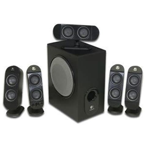 logitech    ch pc multimedia home theater speaker