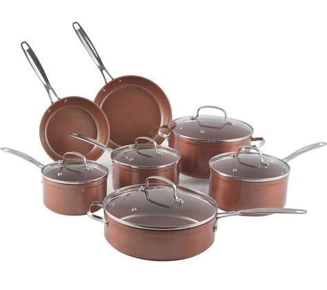 Promo Shinil 12 Pcs Cookware Set nuwave duralon ceramic nonstick 12 cookware set focus