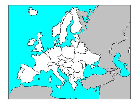 map  europe countries quiz travelquazcom