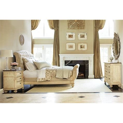 jessica mcclintock bedroom set jessica mcclintock the boutique 4 piece sleigh bedroom set