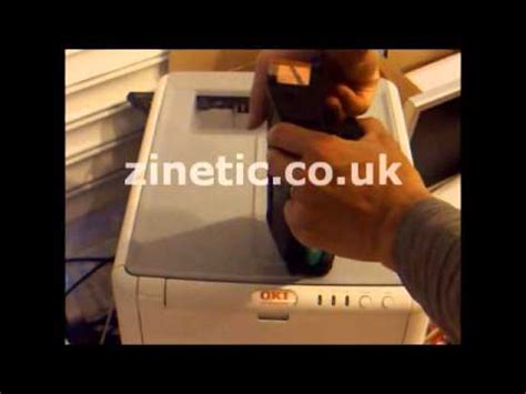 resetting oki printer how to reset your oki c3300 c3400 c3600 laser printers
