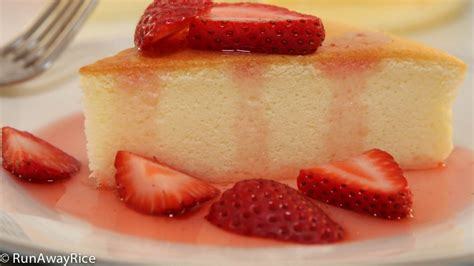 Japanese Cotton Cheesecake With Strawberry 1 cotton cheesecake japanese cheesecake no fail recipe with