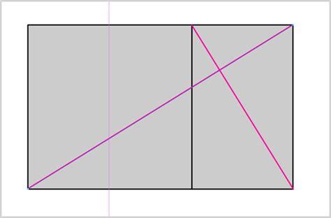 golden section rectangle design fundamentals and the golden section rectangle web
