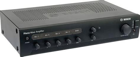 Mixer Audio Bosch bosch ple 1me240 us 240 watt economy mixer lifier