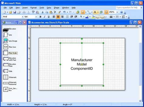 visio shape properties display custom properties d tools
