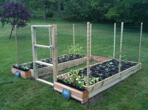 build a square foot garden wired how to wiki fence picmia