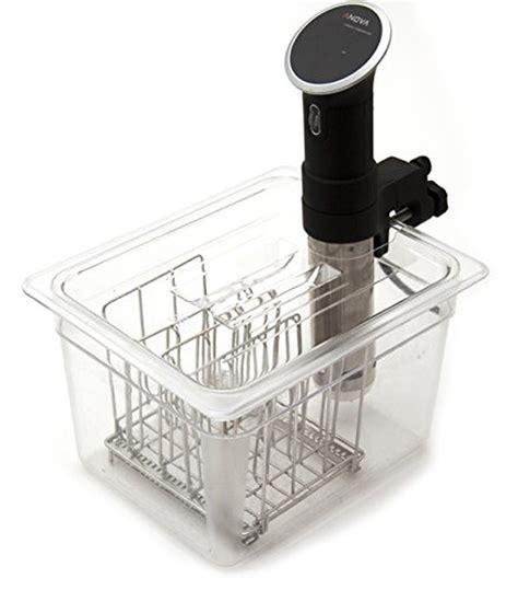 Rack Of Sous Vide by Lipavi Sous Vide Container Model C10 3 6 Gallon 12 7 X 10