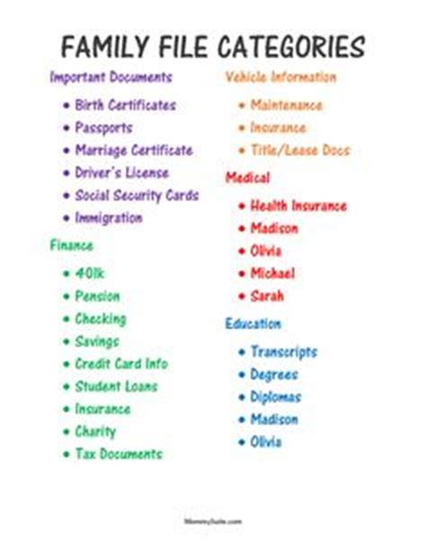 home filing cabinet categories 1000 ideas about filing system on home filing