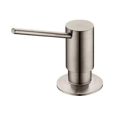 soap dispensers for kitchen sinks moen soap lotion dispenser in rubbed bronze 3944orb