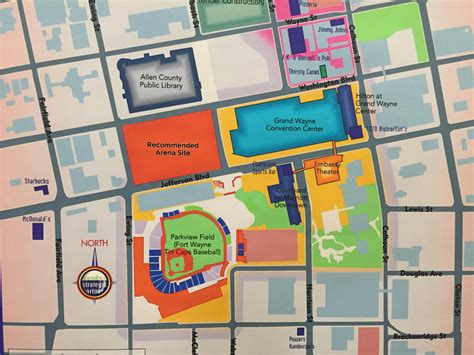 Embassy Floor Plan by Downtown Fort Wayne Arena Receives Committee Support