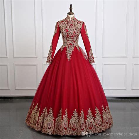 Baju Dress Kode Isc 242 discount burgundy muslim sleeve wonderful wedding