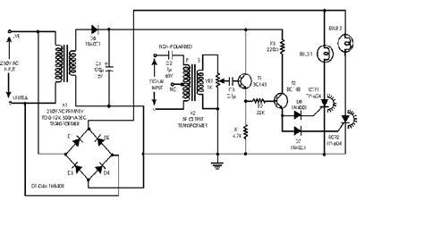 audio light modulator electronics circuits hobby