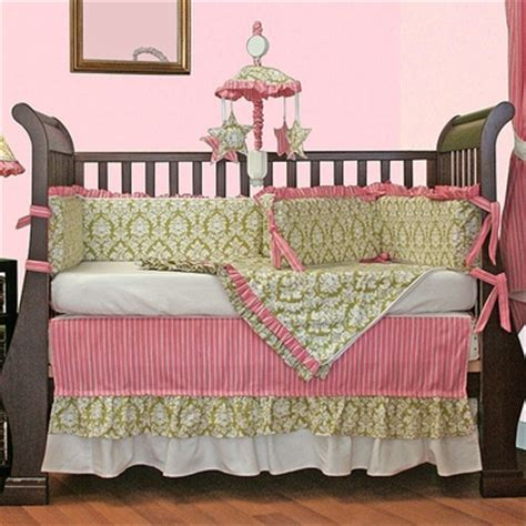 Hoohobbers Crib Bedding Hoohobbers Versailles Green 4 Crib Bedding Set Free Shipping