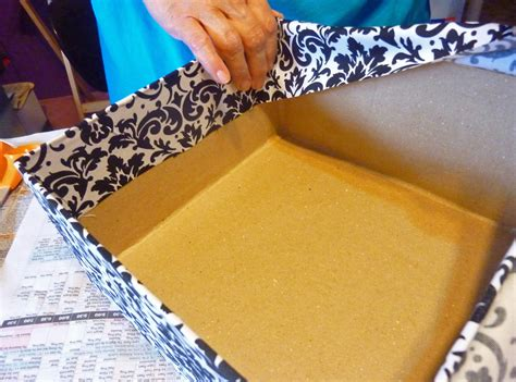 how to make a wedding card box with paint wedding card box 4 tier fabric covered crafts unleashed