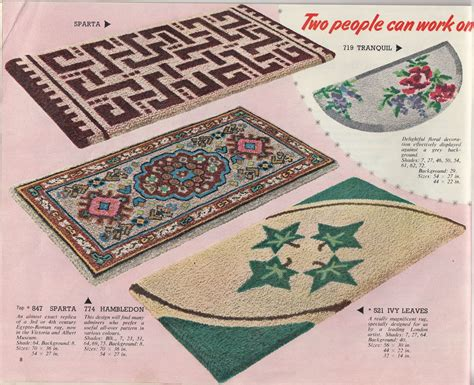 redicut rugs a social history of latch hook rug