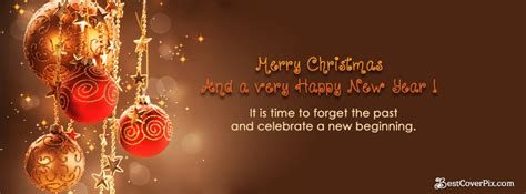 merry christmas  happy  year  banners  fb