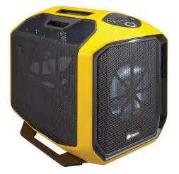 graphite series 380t yellow portable mini itx case