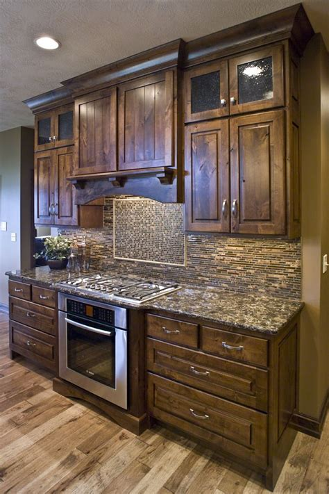 rustic alder kitchen cabinets the 25 best wooden kitchen cabinets ideas on pinterest