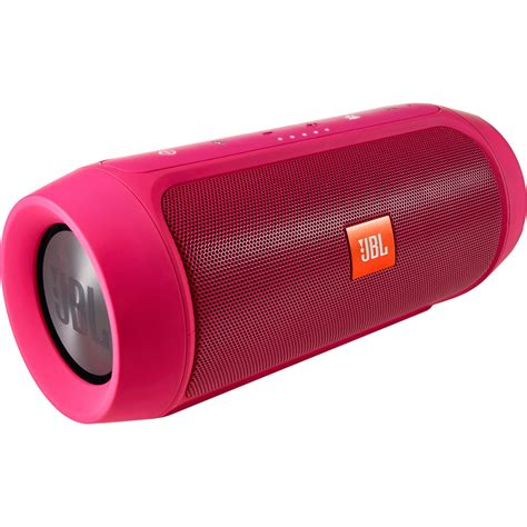 Speaker Jbl Charge jbl charge 2 portable stereo speaker pink charge2pluspinkam