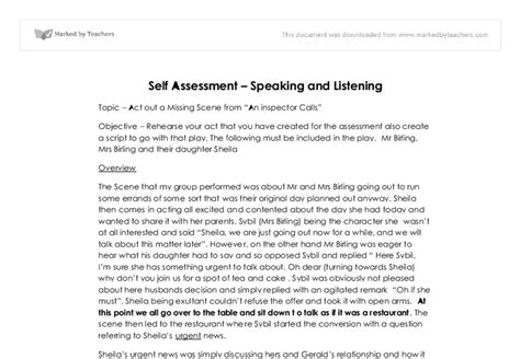 Self Writing Essay by Image Gallery Self Evaluation Exles