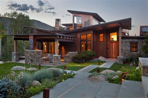 japanese inspired homes japanese inspired ranch home asian exterior denver