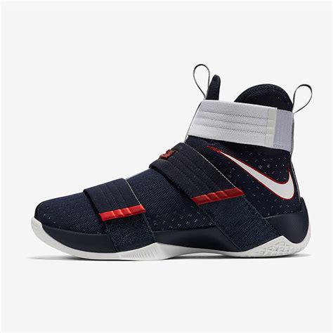 jual sepatu basket nike lebron soldier 10 usa original