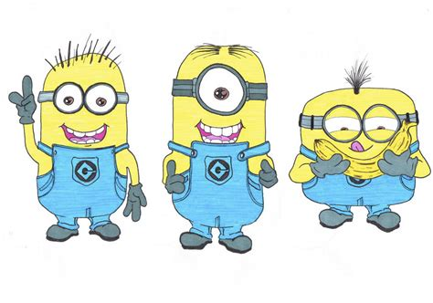 doodle draw minion 20 and drawings ideas design trends