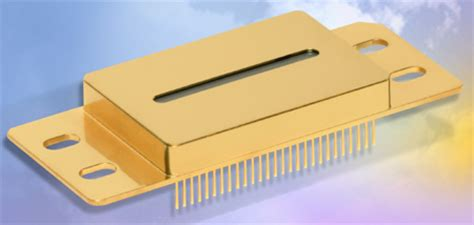 linear diode array detector ingaas linear photodiode arrays for 0 9 to 2 2 181 m